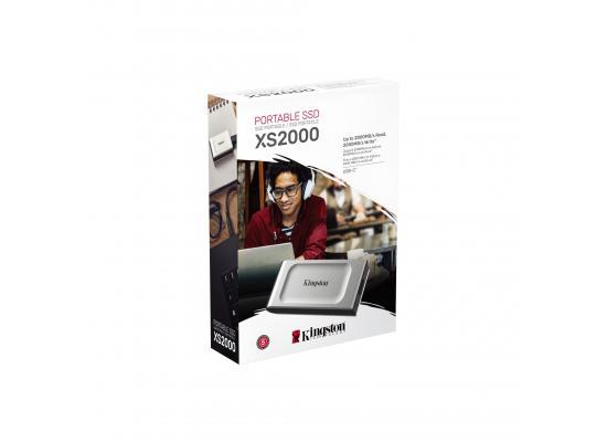 Kingston XS2000 SSD External Pocket-sized 500GB
