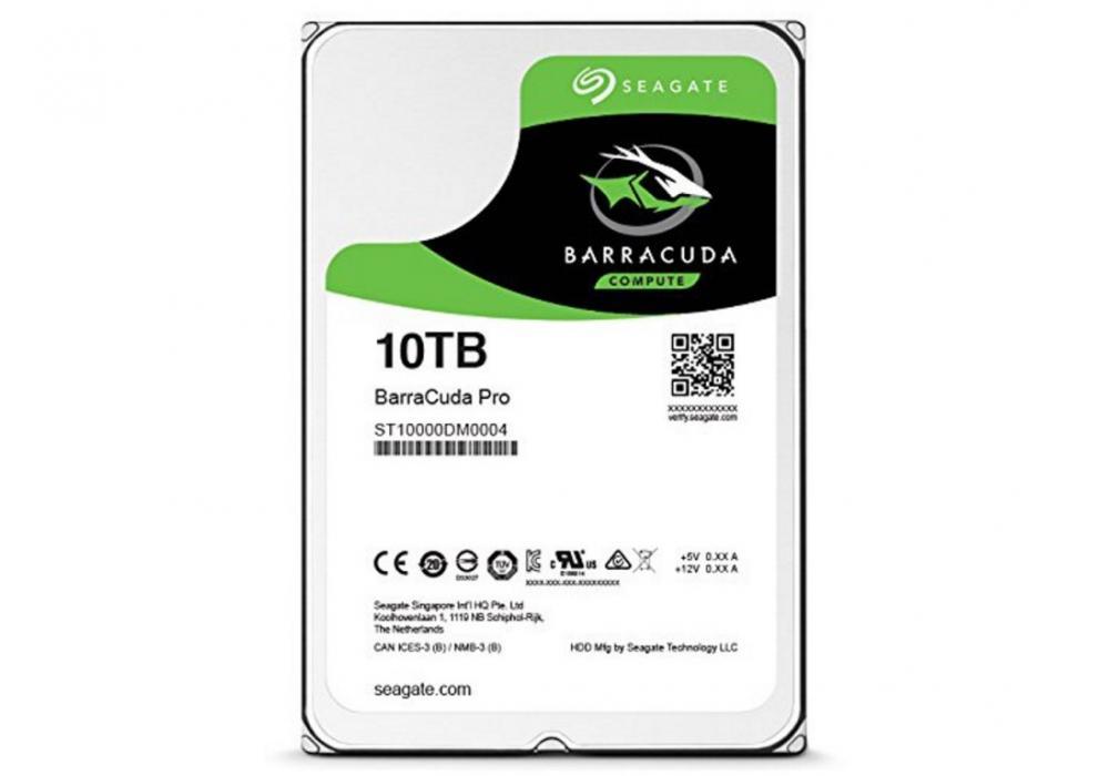 Seagate BarraCuda Hard Drive PRO 10TB