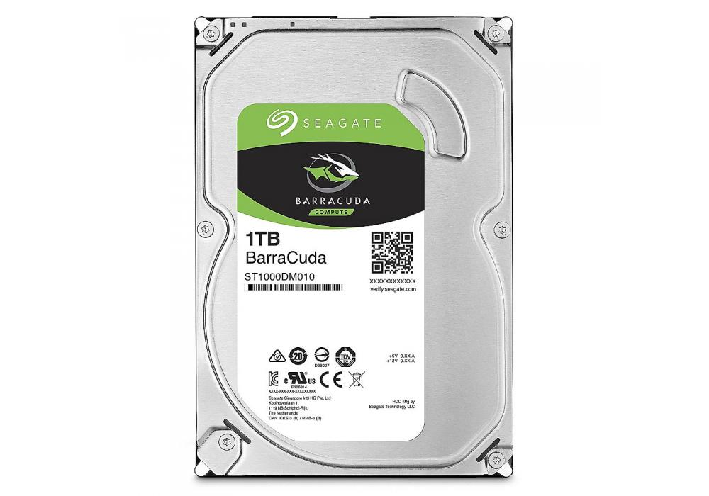 Seagate BarraCuda Hard Drive 1TB