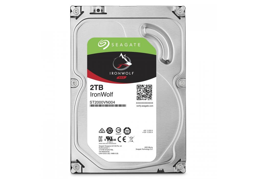 Seagate IronWolf Hard Drive 2TB