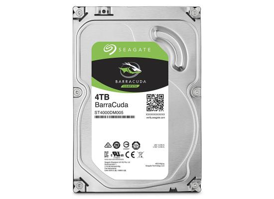 Seagate BarraCuda Hard Drive 4TB