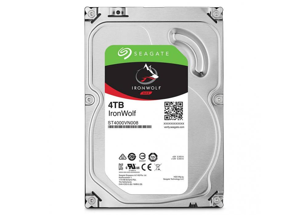 Seagate IronWolf Hard Drive 4TB