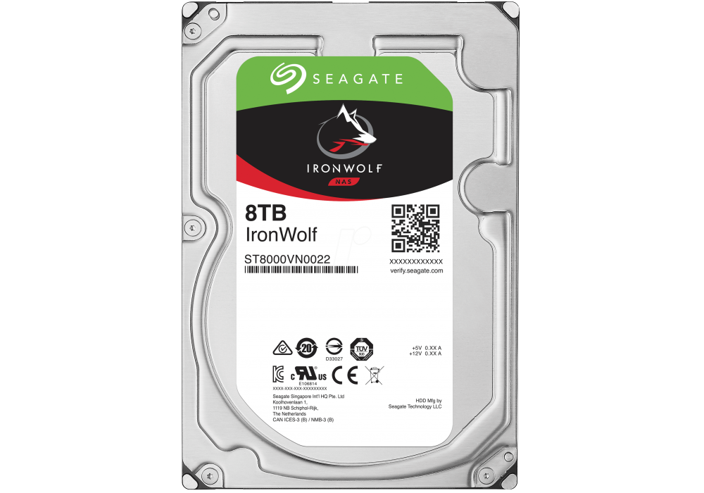 Seagate IronWolf Hard Drive 8TB