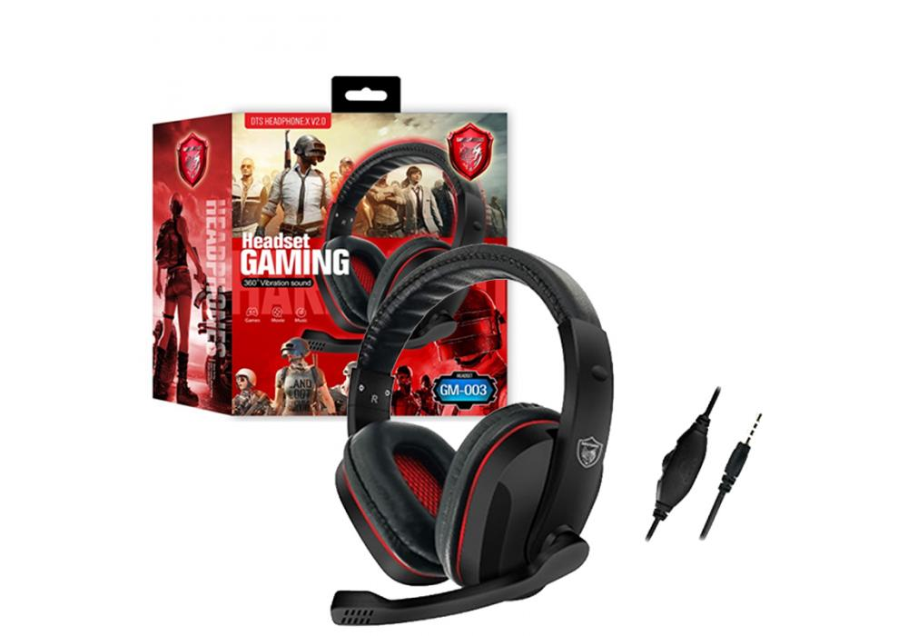 Headset Gaming GM-003 AUX
