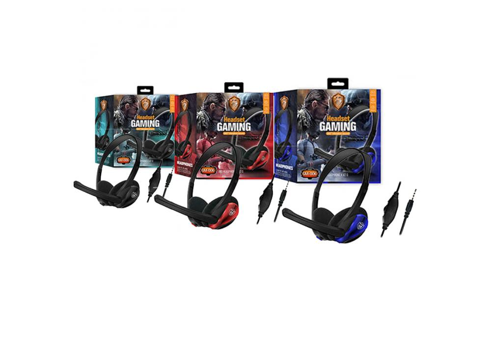 Headset Gaming GM-006 AUX