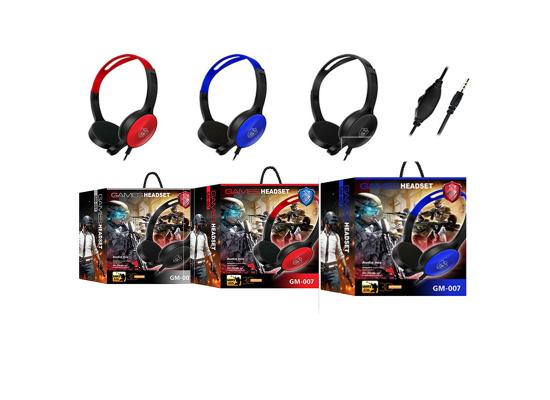 Headset Gaming GM-007 AUX