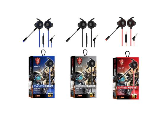 Earphone GM-D1 AUX