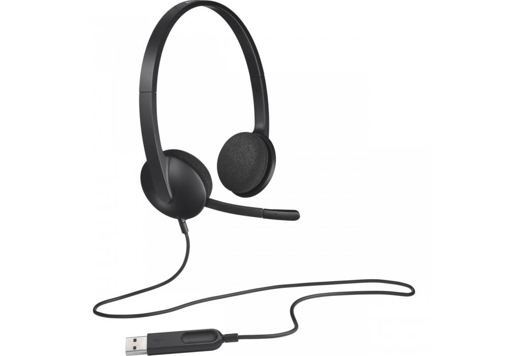 Headset Logitech H340 With Microphone USB