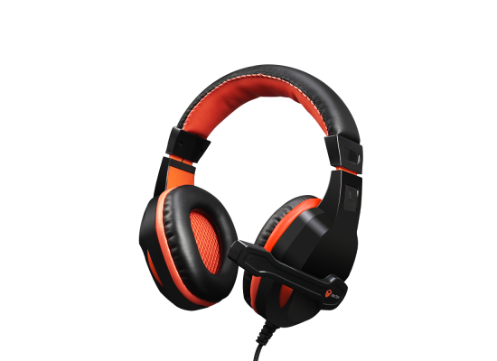 Meetion Wired Gaming Headset Scalable Noise-canceling Stereo Leather  with Mic HP010