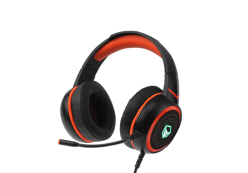 Meetion Wired HIFI 7.1 Surround Sound LED Backlit Gaming Headset with Mic HP030