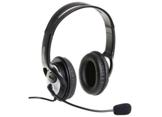 Microsoft LifeChat LX-3000 Headset Head-band Black