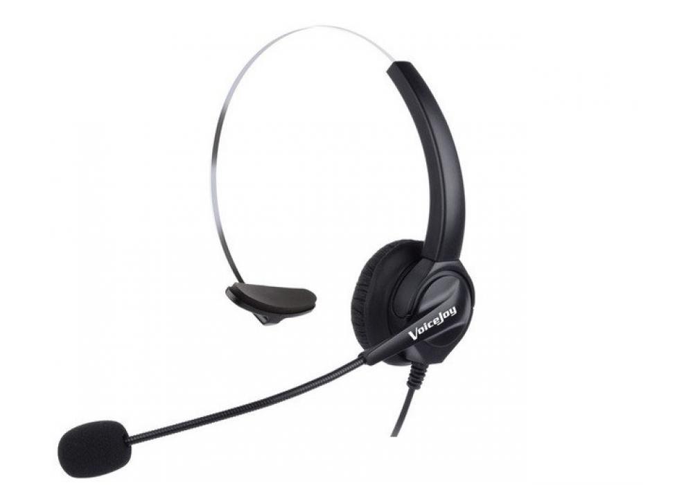 Headphone One Ear call center AUX