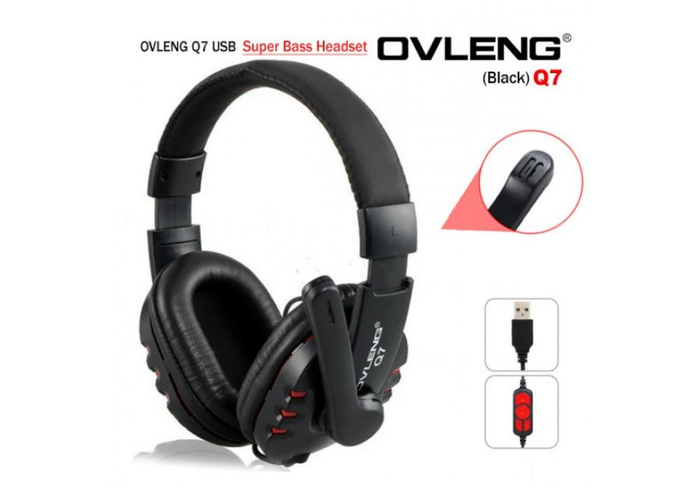 Headset Gaming OVLENG Q7 USB