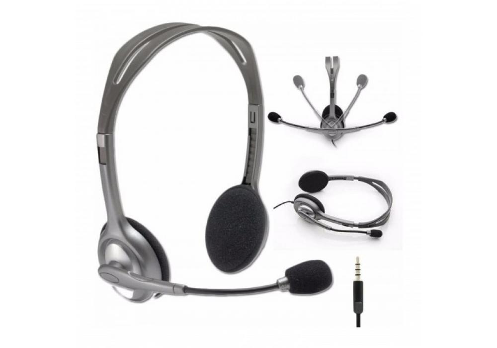 Headset Logitech with Microphone H111