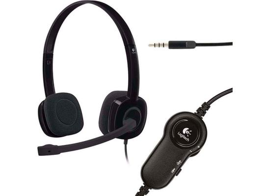 Logitech H151 Stereo Headset with Noise-Cancelling Mic
