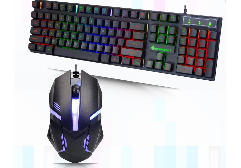 Shipadoo Gaming Keyboard + Mouse