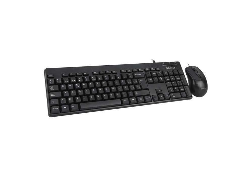 Meetion Combo Mouse+Keyboard Wired AT100