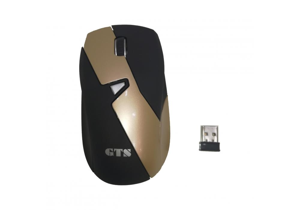 GTS Mouse  Wireless 1 Gold