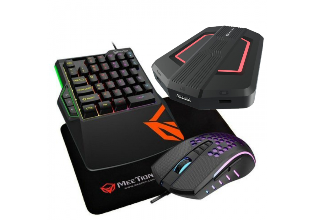 Meetion CO015 Console gaming kits 4in1