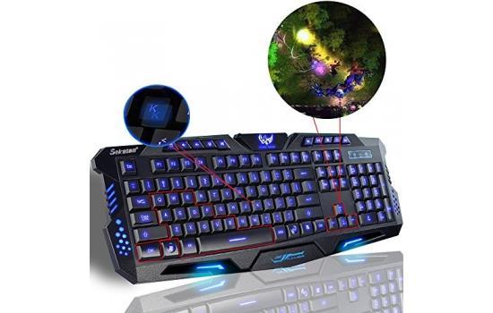 Gaming Keyboard Womail USB Illuminated Led Backlit