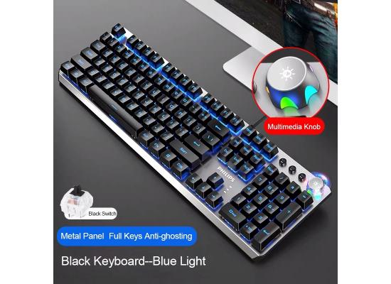 PHILIPS Mechanical Gaming Keyboard SPK8405
