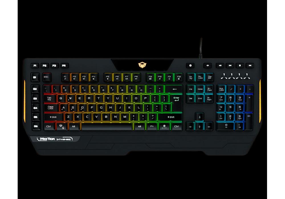 Meetion Custom Macro Pro Membrane Gaming Keyboard K9420