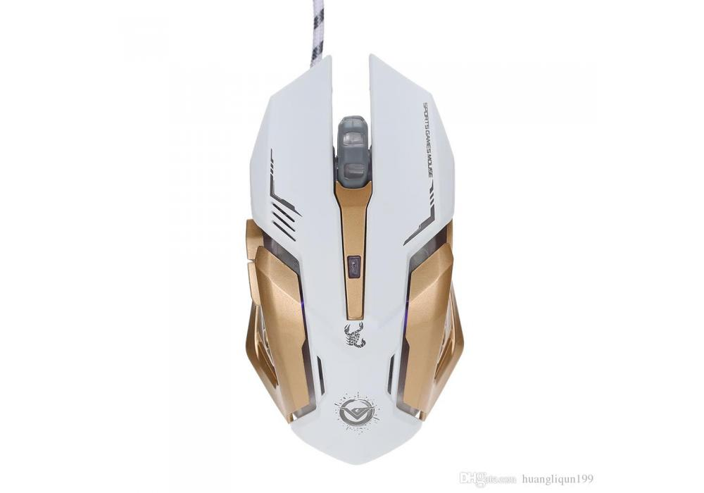 IRON MAN Metal Gaming Mouse