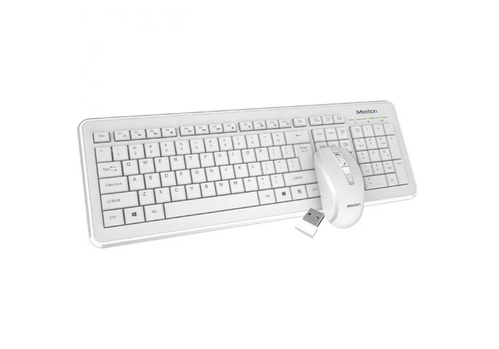 Meetion Desktop Wireless Combo Set 4120 White