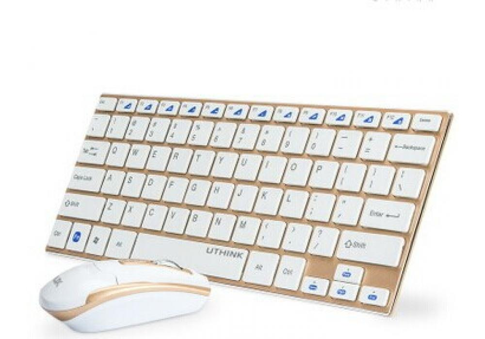 Keyboard and Optical Mouse Wireless Mini