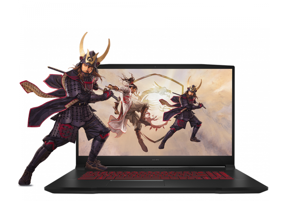 "Laptop MSI Katana GF76  Core i7 11th Generation RTX 3050 4GB DDR6 BLACK 17.3"""