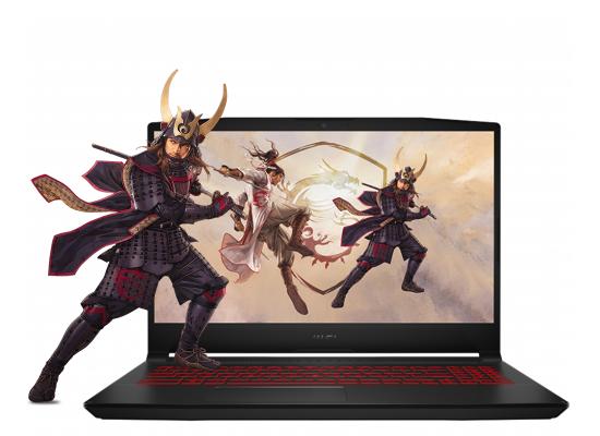 Laptop MSI Katana GF66  Core i7 11th Generation RTX 3050 4GB DDR6 BLACK