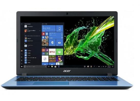 Acer Laptop Aspire A315-54-36KT Core i3 8th Generation + 8GB RAM SSD 250GB BLUE