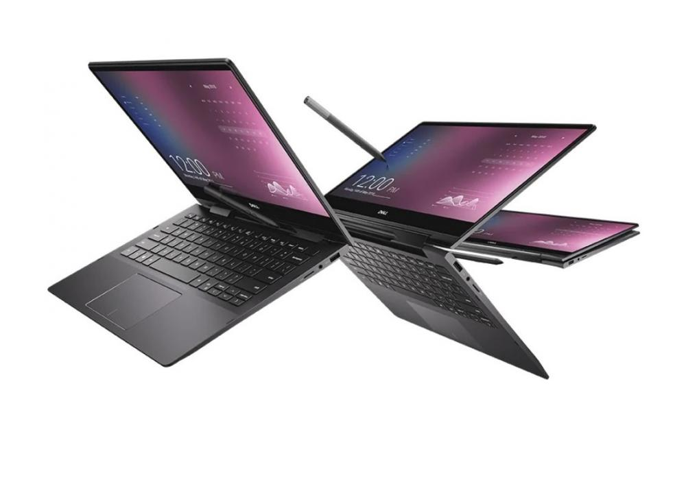 """Laptop Dell Inspiron 13 2-in-1 7391-13.3"""" 4K Touch Core i7 10th Generation"""