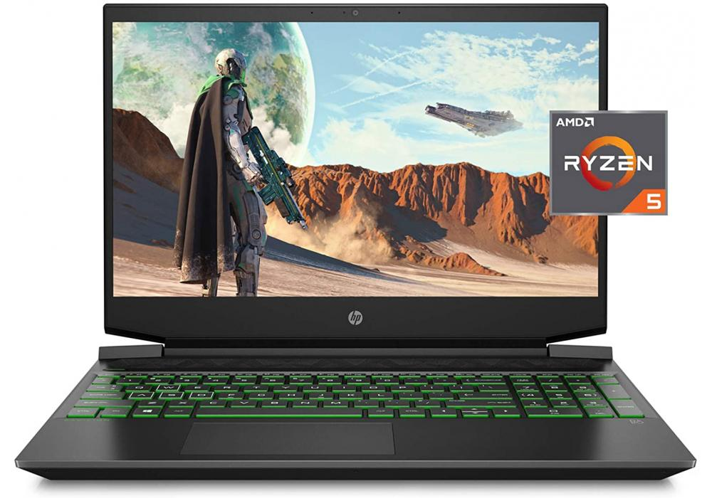 HP Pavilion Gaming Laptop 15-ec2010ne -RYZEN 5 5600H RTX 3050 4GB DDR6