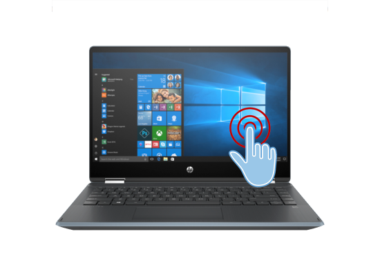 Laptop HP Pavilion x360 Laptop - 14t-dh200  -Core i7 10th Generation Blue