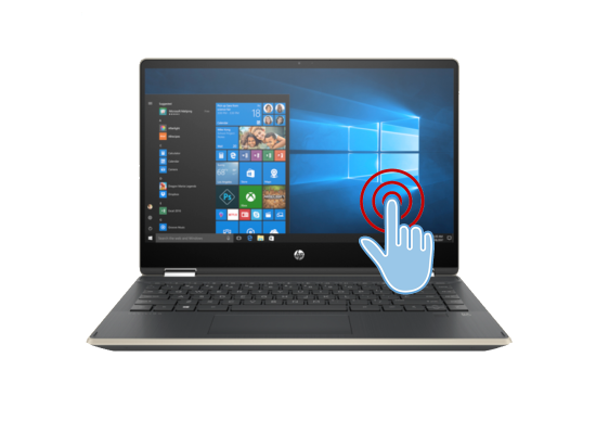 Laptop HP Pavilion x360 Laptop - 14t-dh200  -Core i7 10th Generation Gold