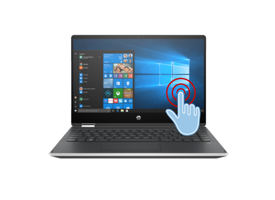 Laptop HP Pavilion x360 Laptop - 14t-dh200  -Core i7 10th Generation Silver
