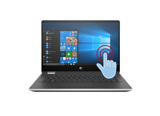 Laptop HP Pavilion x360 Laptop - 14t-dh200  -Core i7 10th Generation Silver