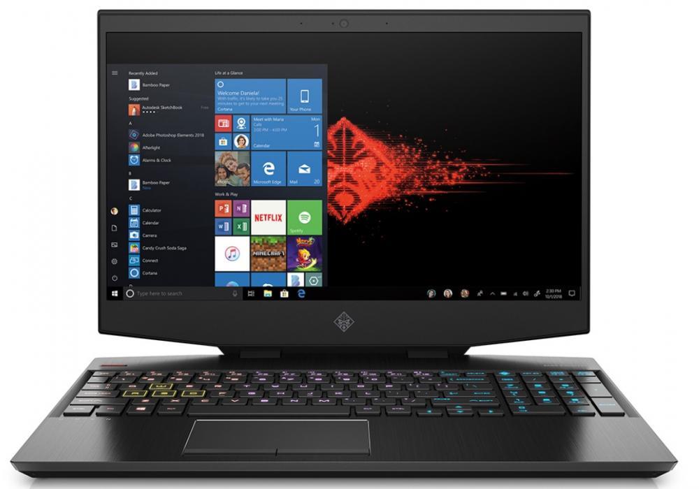Laptop OMEN by HP Laptop 15-dh0007ne  144 Hz Screen  RGB Keyboard  9th Generation -GTX1660