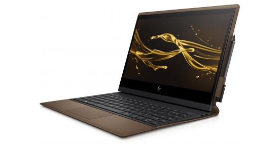 HP Spectre Folio Laptop - 13t Touch X360 -Core i7 Brown Leather