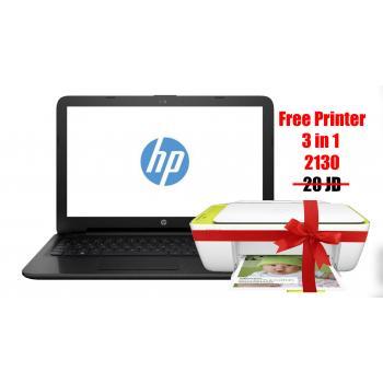 HP Notebook - 15-bs151ne Core i3 + printer 2130