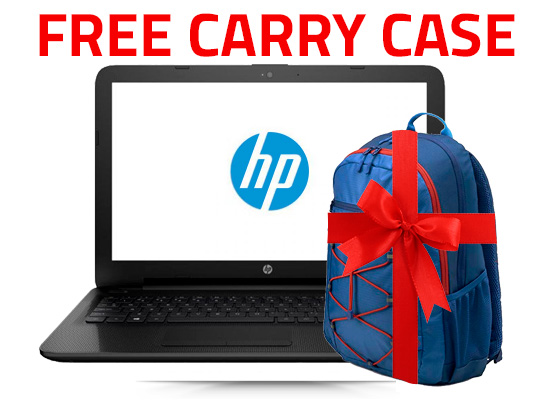 HP Notebook - 15-bs151ne Core i3 + Active Backpack
