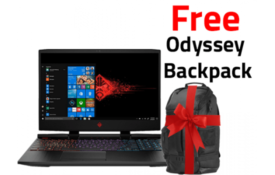 OMEN by HP Laptop 15-dc0012ne  144 Hz Screen  RGB Keyboard  8th Generation + Free Backpack  HP Original