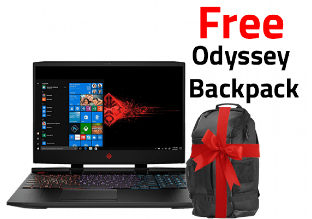 OMEN by HP - 15-dc0005ne   4K  RGB Keyboard  8th Generation + Free Backpack  HP Original