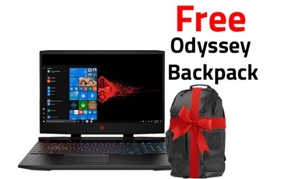 OMEN by HP - 15-dc0005ne   4K  RGB Keyboard  8th Generation + Free Backpack  HP Original
