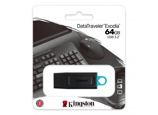 Kingston Flash 64GB DataTraveler Exodia - USB 3.2