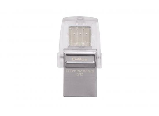 kingston flash OTG 128GB DT microDuo 3C, USB 3.0/3.1 + Type-C flash drive