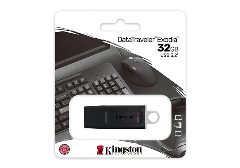 Kingston Flash 32GB DataTraveler Exodia - USB 3.2