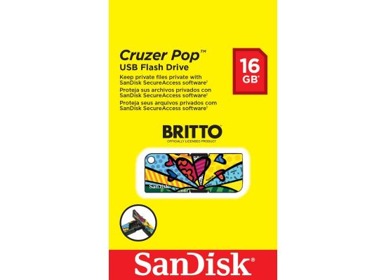 Sandisk Flash16GB Cruzer Pop