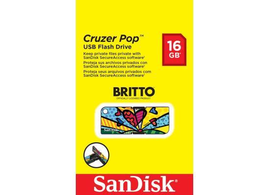 Sandisk Flash16GB Cruzer Pop